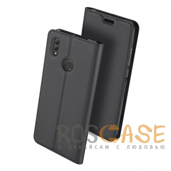 Изображение Серый Dux Ducis | Чехол-книжка для Huawei Honor Note 10 с функцией подставки и картхолдером