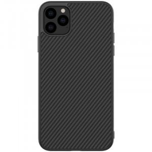 Nillkin Synthetic Fiber | Чехол с карбоновой текстурой для iPhone 11 Pro Max