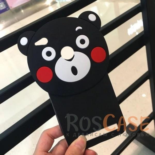 Силиконовый чехол со шнурком Funny Buddy для Xiaomi Redmi 3 Pro / Redmi 3s (Медведь)<br><br>Тип: Чехол<br>Бренд: Epik<br>Материал: Силикон