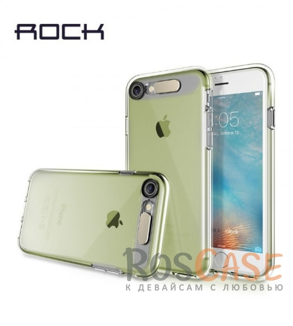 Светящийся TPU чехол ROCK Tube Series для Apple iPhone 7 (4.7) (Зеленый / Transparent Green)Описание:производитель  - &amp;nbsp;Rock;совместим с Apple iPhone 7 (4.7);материал  -  термополиуретан;тип  -  накладка.&amp;nbsp;Особенности:светится во время входящих звонков;прочный;легко чистится;не увеличивает габариты;защита экрана благодаря выступающим бортикам;имеет все функциональные вырезы;защищает от царапин и ударов.<br><br>Тип: Чехол<br>Бренд: ROCK<br>Материал: TPU