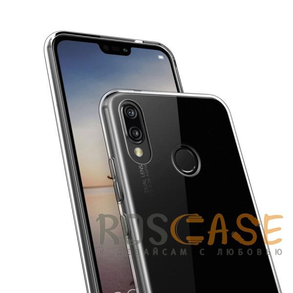 Изображение Прозрачный J-Case THIN | Гибкий силиконовый чехол для Huawei P20 Lite