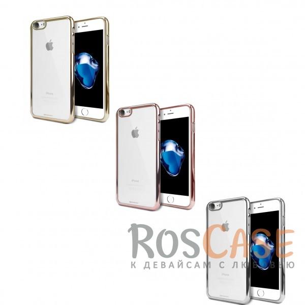 Прозрачный силиконовый чехол с блестящим бампером Mercury Ring 2 Jelly для Apple iPhone 7 / 8 (4.7)Описание:бренд&amp;nbsp;Mercury;разработан для Apple iPhone 7 / 8 (4.7);материал - термополиуретан;тип - накладка.&amp;nbsp;Особенности:прозрачный;ультратонкий;блестящая окантовка;защищает от царапин и ударов;не скользит в руках.<br><br>Тип: Чехол<br>Бренд: Mercury<br>Материал: TPU