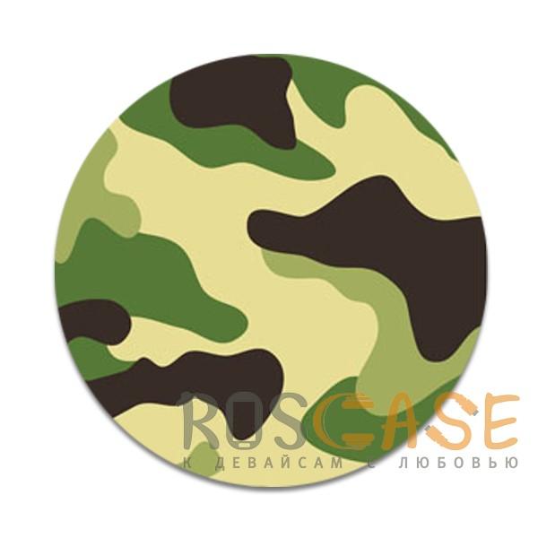 Фото Защитный зеленый Складная подставка-держатель Попсокет с необычными изображениями