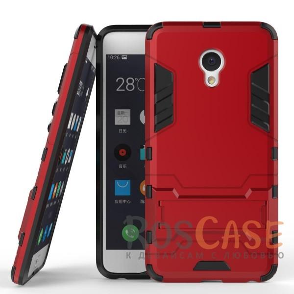 Ударопрочный чехол-подставка Transformer для Meizu M3e с мощной защитой корпуса (Красный / Dante Red)Описание:подходит для Meizu M3e;материалы: термополиуретан, поликарбонат;формат: накладка.&amp;nbsp;Особенности:функциональные вырезы;функция подставки;двойная степень защиты;защита от механических повреждений;не скользит в руках.<br><br>Тип: Чехол<br>Бренд: Epik<br>Материал: TPU