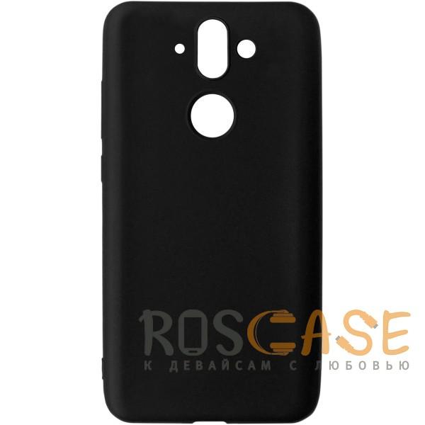 Фото Черный J-Case THIN | Гибкий силиконовый чехол для Nokia 8 Sirocco