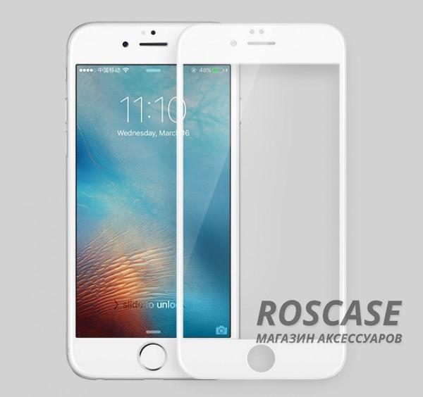 Защитное стекло Nillkin Anti-Explosion Glass Screen (CP+ max 3D) для Apple iPhone 6/6s (4.7) (Белый)Описание:бренд:&amp;nbsp;Nillkin;совместим с Apple iPhone 6/6s (4.7);материал: закаленное стекло;тип: стекло.&amp;nbsp;Особенности:все необходимые функциональные вырезы;в комплекте защита на камеру;цветная рамка;не пропускает ультрафиолет;не влияет на чувствительность сенсора;толщина закругленных срезов - 0,1 мм;плотность  -  9H;анти-отпечатки.<br><br>Тип: Защитное стекло<br>Бренд: Nillkin