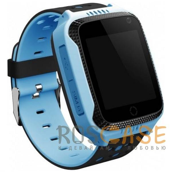 Фото Синий Умные детские часы Smart Baby Watch T7