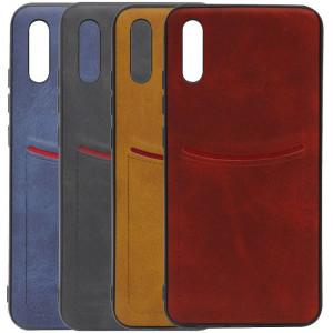 iLEVEL | Чехол с кожаным покрытием и карманом  для Xiaomi Redmi 9A