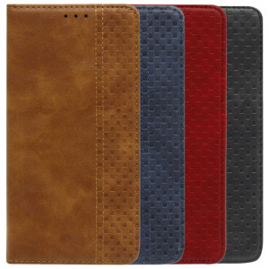 Business Wallet | Кожаный чехол книжка с визитницей для Huawei Y8P / P Smart S