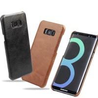 Тонкий чехол для Samsung G950 Galaxy S8 из натуральной кожи