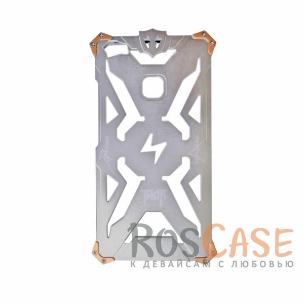 Противоударный чехол из авиационного алюминия на винтах Thor для Xiaomi Mi Max (Серебряный)<br><br>Тип: Чехол<br>Бренд: Epik<br>Материал: Металл