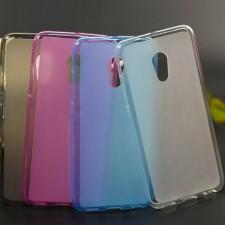 TPU чехол с прозрачными бортами для Meizu Pro 6