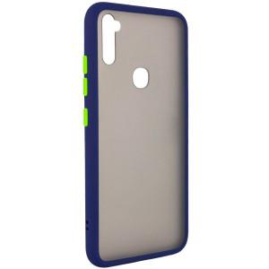 Противоударный матовый полупрозрачный чехол  для Samsung Galaxy A11
