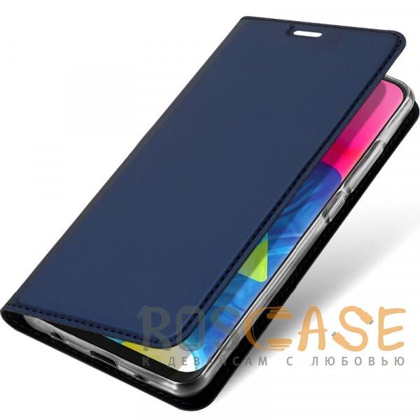 Фотография Синий Чехол-книжка Dux Ducis с карманом для визиток для Samsung Galaxy A70 (A705F)