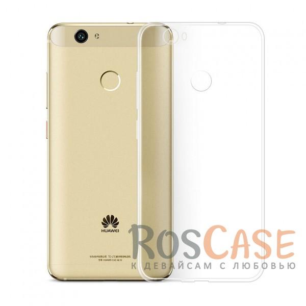 Ультратонкий силиконовый чехол Ultrathin 0,33mm для Huawei Nova (Бесцветный (прозрачный))Описание:совместим с Huawei Nova;ультратонкий дизайн;материал - TPU;тип - накладка;прозрачный;защищает от ударов и царапин;гибкий.<br><br>Тип: Чехол<br>Бренд: Epik<br>Материал: TPU
