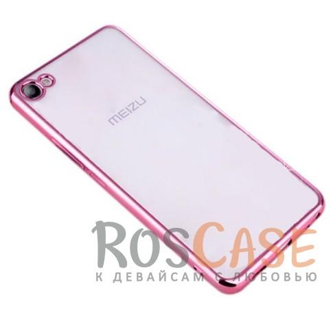 Прозрачный силиконовый чехол для Meizu U10 с глянцевой окантовкой (Розовый)Описание:совместим с Meizu U10;материал - термополиуретан;тип - накладка.<br><br>Тип: Чехол<br>Бренд: Epik<br>Материал: TPU