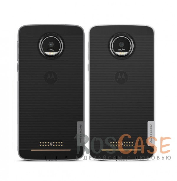 TPU чехол Nillkin Nature Series для Motorola Moto Z (XT1650)<br><br>Тип: Чехол<br>Бренд: Nillkin<br>Материал: TPU