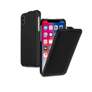 "TETDED натур. кожа | Чехол-флип для Apple iPhone X (5.8"")/XS (5.8"")"