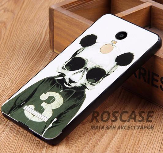 Тонкий металлический чехол для Xiaomi Redmi Note 3 / Redmi Note 3 Pro с оригинальным принтом (Панда)Описание:от бренда&amp;nbsp;Epik;разработан специально для Xiaomi Redmi Note 3 / Redmi Note 3 Pro;материал: алюминий;тип чехла: бампер со вставкой.Особенности:толщина чехла - 0,2 мм;защита граней и задней крышки;оригинальный принт;функциональные вырезы в наличии;эргономичный дизайн.&amp;nbsp;<br><br>Тип: Чехол<br>Бренд: Epik<br>Материал: Металл