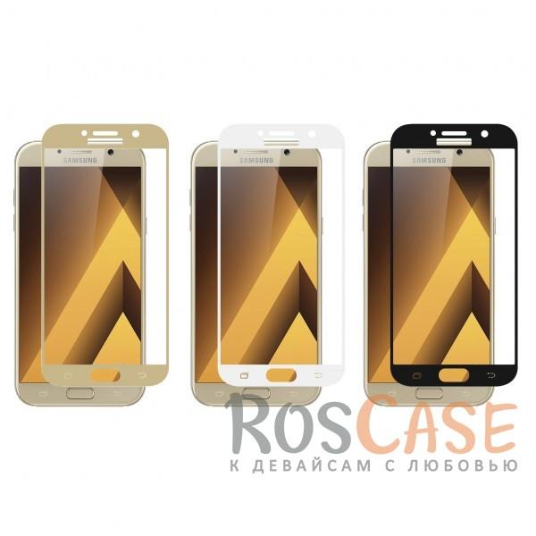 Тонкое защитное стекло CaseGuru на весь экран для Samsung A520 Galaxy A5 (2017)Описание:производитель -&amp;nbsp;CaseGuru;разработано для Samsung A520 Galaxy A5 (2017);цветная рамка;стекло для защиты экрана.<br><br>Тип: Защитное стекло<br>Бренд: CaseGuru