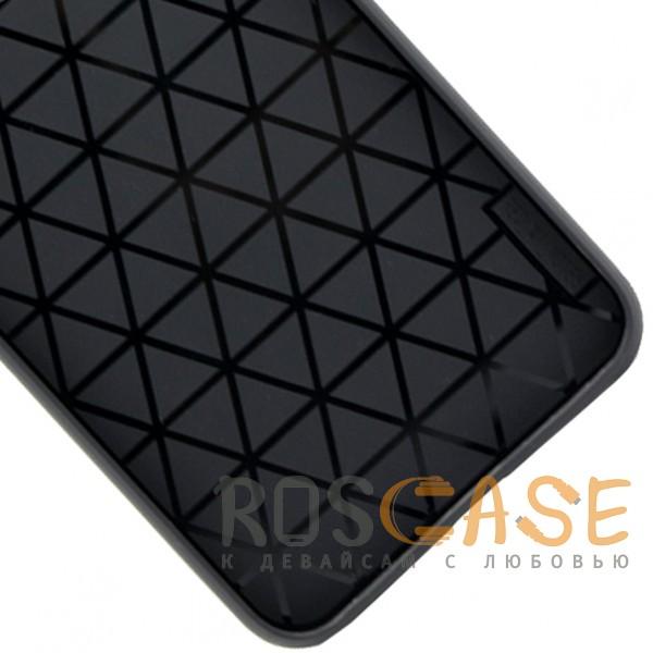 Изображение Черный ILEVEL | Чехол с кожаным покрытием и с карманом-визитницей для Xiaomi Redmi Note 5 Pro / Note 5 (AI Dual Camera)