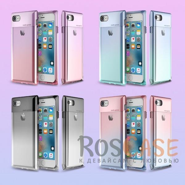 Элегантный прозрачный чехол с градиентной расцветкой и глянцевой вставкой для Apple iPhone 7 / 8 (4.7)Описание:бренд&amp;nbsp;Rock;совместимость:&amp;nbsp;Apple iPhone 7 / 8 (4.7);материал: термополиуретан и поликарбонат;вид: накладка.<br><br>Тип: Чехол<br>Бренд: ROCK<br>Материал: TPU