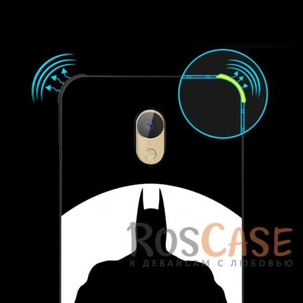 Изображение Batman Противоударный силиконовый чехол для Meizu M5