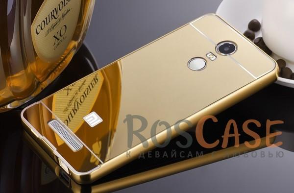 Металлический бампер с акриловой вставкой с зеркальным покрытием для Xiaomi Redmi Note 3 / Pro (Золотой)Описание:разработан для Xiaomi Redmi Note 3 / Pro;материалы - металл, акрил;тип - бампер с задней панелью.<br><br>Тип: Чехол<br>Бренд: Epik<br>Материал: Металл