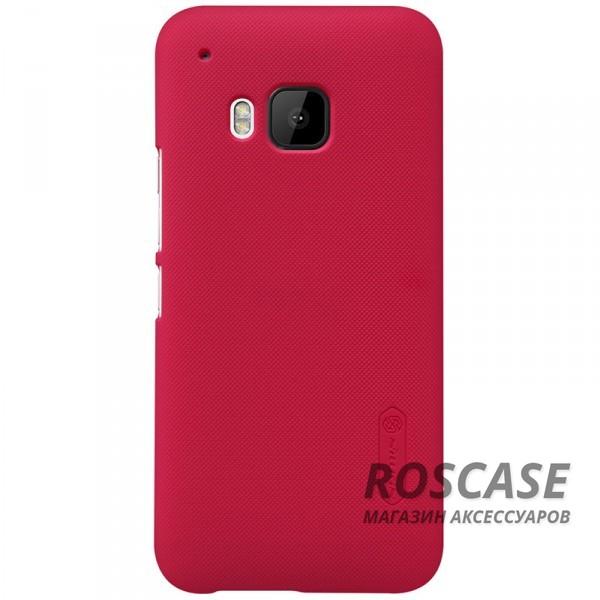 Чехол Nillkin Matte для HTC One / M9 (+ пленка) (Красный)Описание:производитель - компания&amp;nbsp;Nillkin;материал - поликарбонат;совместим с HTC One / M9;тип - накладка.&amp;nbsp;Особенности:матовый;прочный;тонкий дизайн;не скользит в руках;не выцветает;пленка в комплекте.<br><br>Тип: Чехол<br>Бренд: Nillkin<br>Материал: Поликарбонат