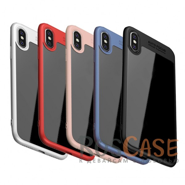 Ультратонкий чехол iPaky (original) Hard Original с глянцевой прозрачной вставкой и защитными бортиками вокруг камеры для Apple iPhone X (5.8)Особенности:совместимость -&amp;nbsp;Apple iPhone X (5.8);бренд -&amp;nbsp;iPaky;материалы - поликарбонат, термополиуретан;тип - накладка;прозрачная вставка из поликарбоната;легко устанавливается;дополнительная защита камеры;дублирующие кнопки для защиты клавиш;ультратонкий дизайн;предусмотрены все функциональные вырезы.&amp;nbsp;<br><br>Тип: Чехол<br>Бренд: iPaky<br>Материал: Поликарбонат