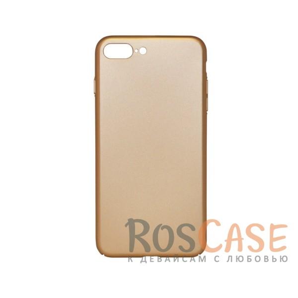 Матовая soft-touch накладка Joyroom из ударостойкого пластика с дополнительной защитой углов для Apple iPhone 7 plus / 8 plus (5.5) (Золотой)Описание:бренд - Joyroom;совместимость - Apple iPhone 7 plus / 8 plus (5.5);материал - пластик;тип - накладка.<br><br>Тип: Чехол<br>Бренд: Epik<br>Материал: Пластик
