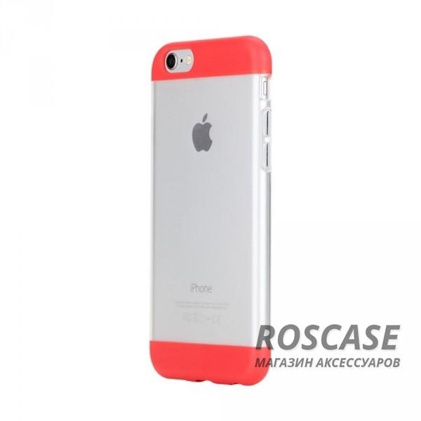 TPU+PC чехол Rock Aully Series для Apple iPhone 6/6s (4.7) (Красный / Red)Описание:бренд производителя: Rock;произведен для смартфона Apple iPhone 6/6s;изготовлен из поликарбоната и термополиуретана;форм-фактор: накладка.Особенности:имеет функцию антискольжения и антиотпечатков;оснащен надежной системой фиксации;обладает двойной защитой;износостойкий чехол.<br><br>Тип: Чехол<br>Бренд: ROCK<br>Материал: TPU