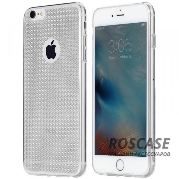 TPU чехол Rock Fla Series для Apple iPhone 6/6s (4.7) (Бесцветный / Transparent)Описание:производитель - Rock;материал -  термополиуретан;поверхность  -  гладкая;форм-фактор  -  накладка;совместимость - Apple iPhone 6/6s (4.7)Особенности:прочный и износоустойчивый;не подвергается деформации.легко фиксируется;не скользит в руках.<br><br>Тип: Чехол<br>Бренд: ROCK<br>Материал: TPU