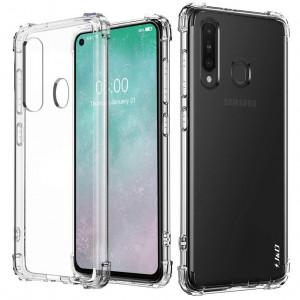 King Kong | Противоударный прозрачный чехол для Samsung Galaxy A60 с защитой углов