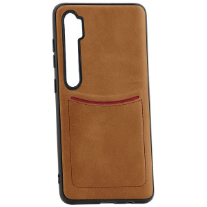 iLevel   Чехол с кожаным покрытием и карманом для Xiaomi Mi Note 10 (Pro) / CC9 Pro