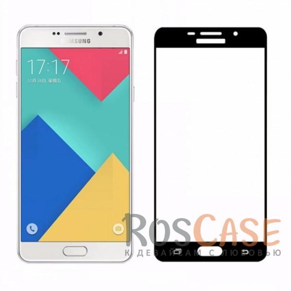 Защитное стекло с цветной рамкой на весь экран с олеофобным покрытием анти-отпечатки для Samsung A510F Galaxy A5 (2016) (Черный)Описание:компания&amp;nbsp;Epik;совместимо с Samsung A510F Galaxy A5 (2016);материал: закаленное стекло;тип: защитное стекло на экран.Особенности:полностью закрывает дисплей;толщина - 0,3 мм;цветная рамка;прочность 9H;покрытие анти-отпечатки;защита от ударов и царапин.<br><br>Тип: Защитное стекло<br>Бренд: Epik