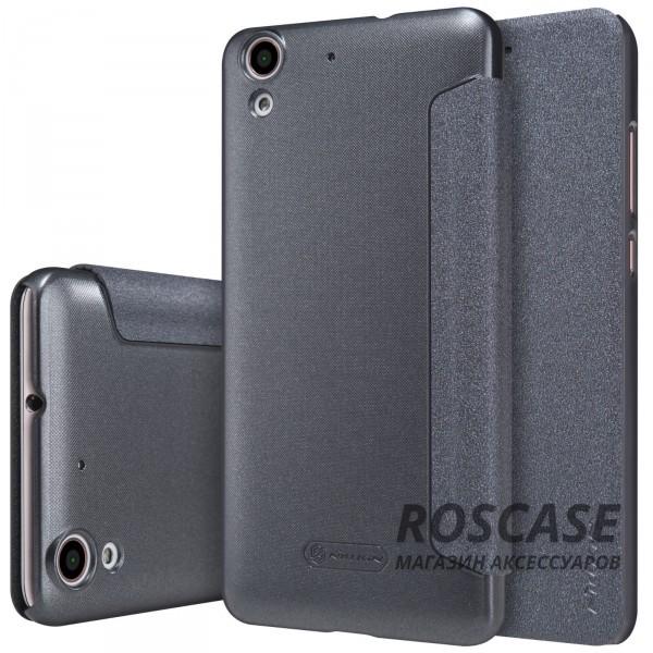 Кожаный чехол (книжка) Nillkin Sparkle Series для Huawei Y6 II (Черный)Описание:компания -&amp;nbsp;Nillkin;разработан для Huawei Y6 II;материалы  -  синтетическая кожа, поликарбонат;форма  -  чехол-книжка.&amp;nbsp;Особенности:защищает со всех сторон;имеет все необходимые вырезы;легко чистится;функция Sleep mode;не увеличивает габариты;защищает от ударов и царапин;блестящая поверхность.<br><br>Тип: Чехол<br>Бренд: Nillkin<br>Материал: Искусственная кожа