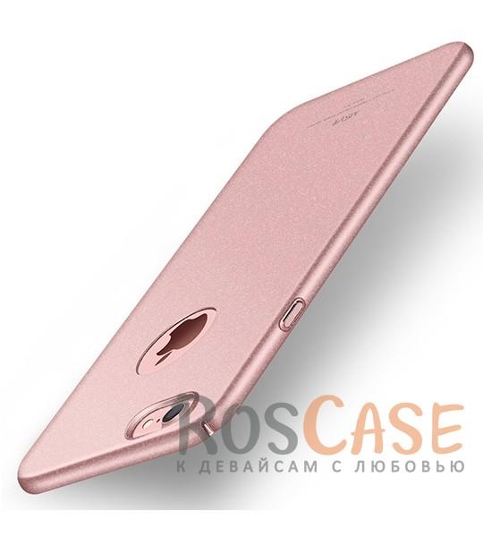 Пластиковый чехол Msvii Quicksand series для Apple iPhone 7 (4.7) (Розовый)Описание:производитель - Msvii;совместим с Apple iPhone 7 (4.7);материал  -  пластик;тип  -  накладка.&amp;nbsp;Особенности:матовая поверхность;имеет все разъемы;тонкий дизайн не увеличивает габариты;накладка не скользит;защищает от ударов и царапин;износостойкая.<br><br>Тип: Чехол<br>Бренд: Epik<br>Материал: Пластик
