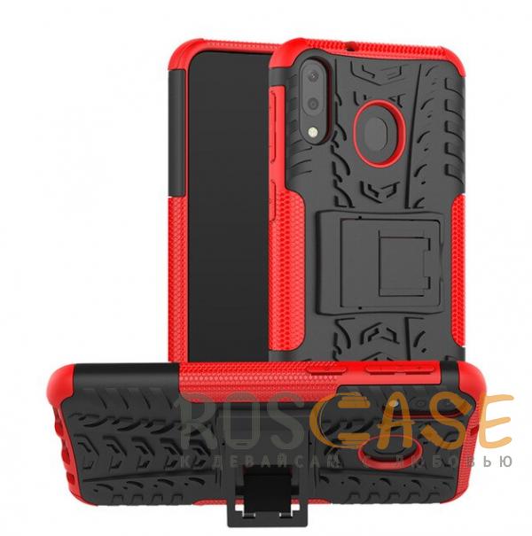 Фотография Красный Shield | Противоударный чехол для Galaxy A20 / A30 / A50 с подставкой