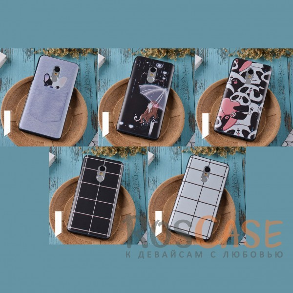 Силиконовый чехол-накладка с уникальным принтом для Xiaomi Redmi Note 4Описание:стильный принт;тонкий дизайн;создан для Xiaomi Redmi Note 4;материал - силикон;предусмотрены все функциональные вырезы;тип - накладка.<br><br>Тип: Чехол<br>Бренд: Epik<br>Материал: TPU