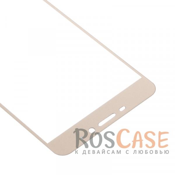 Изображение Золотой CaseGuru | Полноэкранное защитное стекло для для Meizu M5 Note