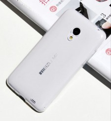 фото TPU чехол Ultrathin Series 0,33mm для Meizu MX3