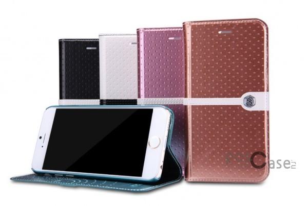 Кожаный чехол (книжка) Nillkin Ice Series для Apple iPhone 6/6s (4.7) (+ пленка)Описание:разработка и производство компании&amp;nbsp;Nillkin;совместим с Apple iPhone 6/6s (4.7);изготовлен из искусственной кожи и полиуретана;гладкая поверхность;тип конструкции  -  чехол-книжка;&amp;nbsp;Особенности:внутренняя часть отделана микрофиброй;ультратонкий;пленка в комплекте;транформируется в подставку;насыщенная цветовая палитра;повышенная износоустойчивость.<br><br>Тип: Чехол<br>Бренд: Nillkin<br>Материал: Искусственная кожа