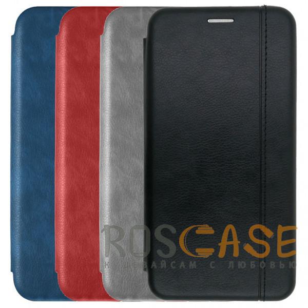 Фото Open Color 2 | Кожаный чехол-книжка для Samsung Galaxy S10 с магнитом и подставкой