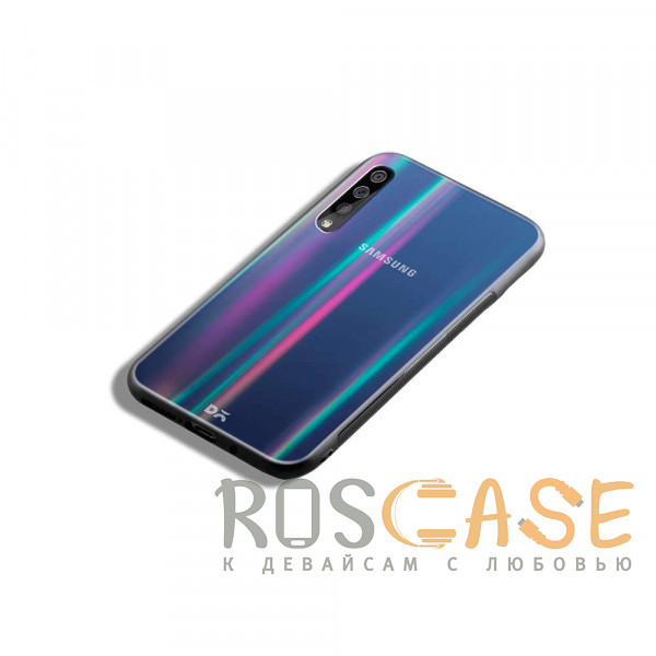 Изображение Черный TPU+Glass чехол Gradient Aurora с лого для Samsung Galaxy A50 (A505F) / A50s / A30s