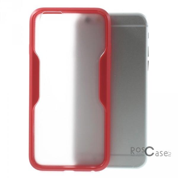 TPU+PC чехол для Apple iPhone 6/6s (4.7)  (Красный (прозрачный))Описание:производитель - Epik;совместимость: смартфоны Apple iPhone 6/6s (4.7)&amp;nbsp;;используемый материал: термопластичный полиуретан;форма: накладка.Особенности:гибкий и эластичный;устойчив к потертостям;стильный;долговечен;стойкий к перепадам температур.<br><br>Тип: Чехол<br>Бренд: Epik<br>Материал: TPU