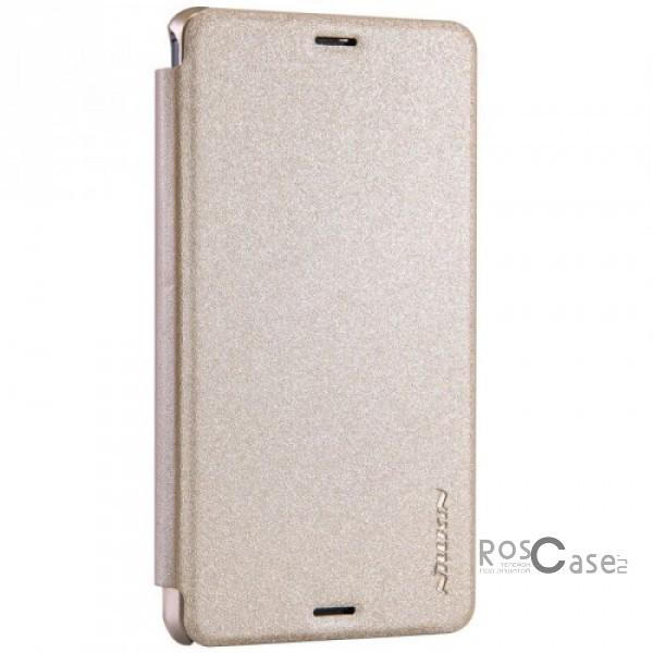 Кожаный чехол (книжка) Nillkin Sparkle Series для Sony Xperia Z3 Compact (Золотой)Описание:разработчик и производитель&amp;nbsp;Nillkin;изготовлен из синтетической кожи и поликарбоната;фактурная поверхность;тип конструкции: чехол-книжка;совместим с Sony Xperia Z3 Compact.&amp;nbsp;Особенности:внутренняя отделка из микрофибры;ультратонкий;не скользит в руках;яркая, насыщенная палитра цветов.<br><br>Тип: Чехол<br>Бренд: Nillkin<br>Материал: Искусственная кожа
