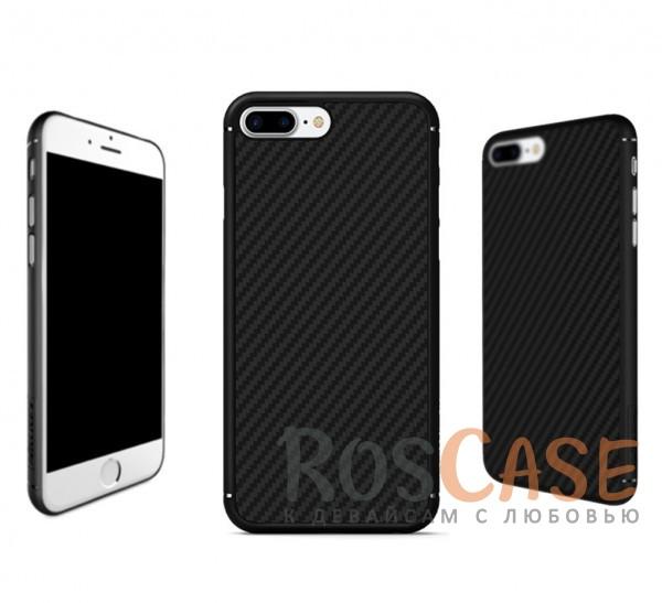 Пластиковая накладка Nillkin Synthetic Fiber series для Apple iPhone 7 plus (5.5) (Черный)Описание:производство бренда&amp;nbsp;Nillkin;разработано специально для Apple iPhone 7 plus (5.5);материал: карбон;тип: накладка.&amp;nbsp;Особенности:все функциональные вырезы имеются;прочный и износостойкий;не ухудшает качество сигнала;на нем не заметны отпечатки пальцев;не деформируется.<br><br>Тип: Чехол<br>Бренд: Nillkin<br>Материал: Пластик