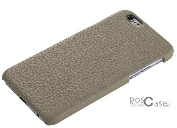 Кожаная накладка ROCK Jazz Series для Apple iPhone 6/6s (4.7) (Серый / Grey)&amp;nbsp;Описание:компания-производитель:&amp;nbsp;ROCK;совместим с Apple iPhone 6/6s (4.7);материалы: натуральная кожа, поликарбонат;форма чехла: накладка.&amp;nbsp;Особенности:пыленепроницаемый;полный набор функциональных вырезов;не скользит;высокая степень защиты;элегантный дизайн;тонкое исполнение.<br><br>Тип: Чехол<br>Бренд: ROCK<br>Материал: Натуральная кожа