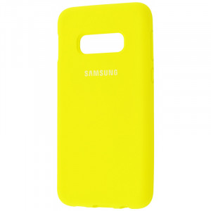 Чехол Silicone Cover для Samsung Galaxy S10 Plus (full protective)